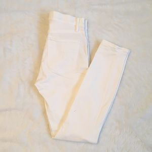 Gap White High waisted Jeans